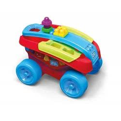 MEGA BLOKS Shape Sorting Wagon Toy FVJ47 887961660067