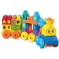 MEGA BLOKS Musical Train Μουσικό Τρενάκι ABC FWK22 887961675832