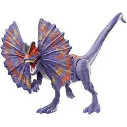 Mattel Jurassic World Basic Dinosaur Figure - Savage Strike Dilophosaurus GCR54 / GFG69 887961761504