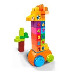 Mattel Count And Bounce Giraffe Καμηλοπάρδαλη GFG19 887961761191