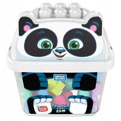 MEGA BLOKS Playful Panda 25 Building Blocks GCT46 / GCT47 887961734317