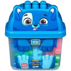 MEGA BLOKS Happy Puppy Τουβλάκια Σε Κουτί 25 Τμχ - Κουταβάκι GCT46 / GFH49 887961762242