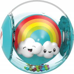 Fisher-Price Hello Sunshine Rattle Ball GJF68 887961810011