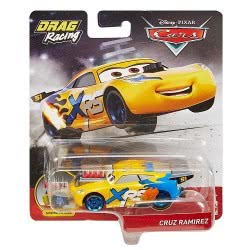 Mattel Cars XRS Αυτοκινητάκια Drag Racers - Cruz Ramirez GFV33 / GFV35 887961770032