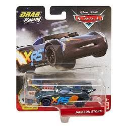 Mattel Cars XRS Αυτοκινητάκια Drag Racers - Jackson Storm GFV33 / GFV36 887961770056