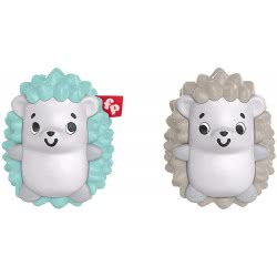 Fisher-Price Hedgehog Shaker Twins Ζωάκια Κουδουνίστρες - Δίδυμα Σκαντζοχοιράκια GHL23 / FXC22 887961687415