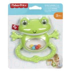 Fisher-Price Shake N Rattle Frog Ζωάκια Σαφάρι - Βατραχάκι GGF02 / GGF03 887961776614