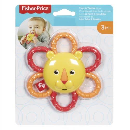 Fisher-Price Take N Teeth Lion Ζωάκια Σαφάρι - Λιονταράκι GGF02 / GGF04 887961776621