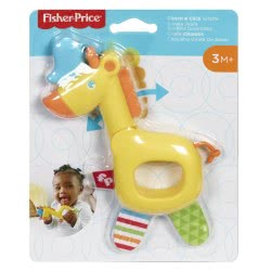 Fisher-Price Clutch And Click Giraffe Ζωάκια Σαφάρι - Καμηλοπάρδαλη GGF02 / GGF05 887961776607