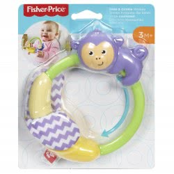 Fisher-Price Slide And Crinkle Monkey GGF02 / GGF06 887961776584