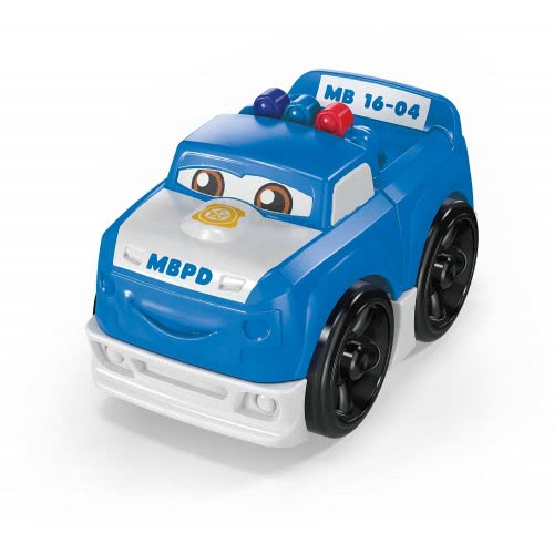 MEGA BLOKS First Builders Police Patrol Pete Οχηματάκι FLT32 / GCX02 887961736755