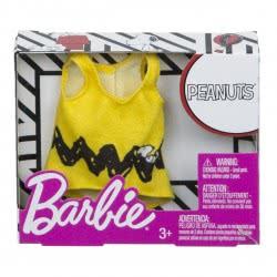 Mattel Barbie Fashions Peanuts Yellow Tank FLP40 / FPW50 887961617771