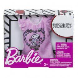 Mattel Barbie Fashions Peanuts Pink Shirt FLP40 / FPW52 887961617788