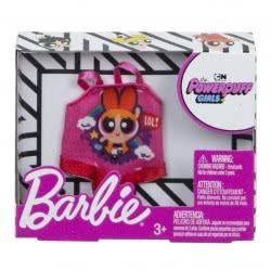 Mattel Barbie Fashions Powerpuff Girls Pink Shirt FLP40 / FXJ76 887961693331