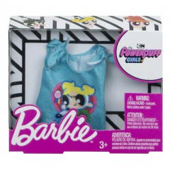 Mattel Barbie Fashions Powerpuff Girls Blue Shirt FLP40 / FXJ77 887961693317