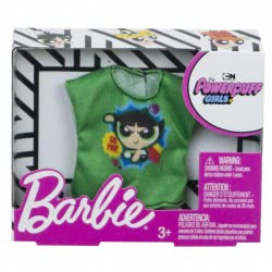 Mattel Barbie Fashions Powerpuff Girls Green Shirt FLP40 / FXJ78 887961693010