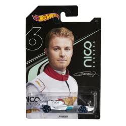Mattel Hot Wheels Nico Rosberg F1 Winning Formula Αυτοκινητάκι 1:64 - 3 Σχέδια GGC34 / GGC37 887961774955