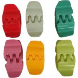 LA FOLLIE Παιδικό Κλάμερ Μαλλιών Ψείρα - 6 Χρώματα 00117ΑΣ 5202702002794