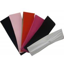 LA FOLLIE Κορδέλα Μαλλιών Εμπριμέ Μονόχρωμη - 6 Χρώματα 11111 5202702044817