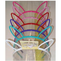 LA FOLLIE Παιδική Στέκα Μαλλιών Κόκκαλο Αυτάκια - 6 Χρώματα 18021 5202703024351