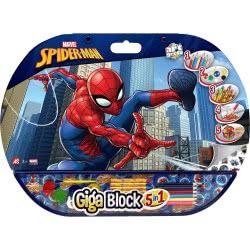 As company Giga Block Σετ Ζωγραφικής 5 Σε 1 Spiderman 1023-62723 5203068627232