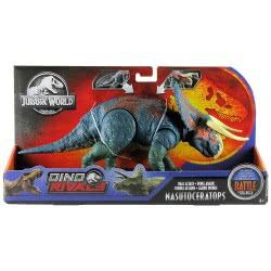 Mattel Jurassic World Δεινόσαυρος Με Σπαστά Μέλη - Nasutoceratops GDT38 / GGK11 887961780758
