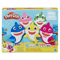 Hasbro Play-Doh Baby Shark Set E8141 5010993623839