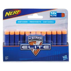 Hasbro Nerf N-Strike Elite 12 Pack Refill Darts A0350 5010993577910