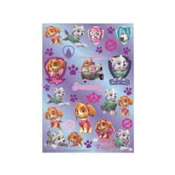 Group Operation Paw Patrol Stickers A4 - Girl F43376 8719497435067