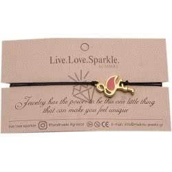 OEM Bracelet Gold Flamingo Pink CMB369 5207216010266
