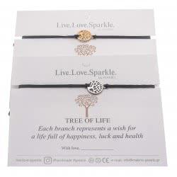 OEM Bracelete Tree Of Life Mini 1 Cm - 2 Colours CMB561 5207216017487