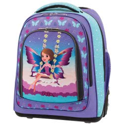 POLO Primary School Trolley Backbag Belike - Glow 2019 - Fairy 901252-62 5201927101015