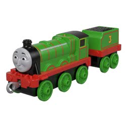Fisher-Price Thomas And Friends Trackmaster Τόμας Τρενάκια Με Βαγόνι - Henry GCK94 / GDJ55 887961744699
