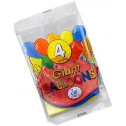 SWAN Giant Balloons 4 Pieces Num 1 202775 5201582202775