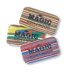 Koh-i-noor Γομολάστιχα Magic Τρίχρωμη - 1 Τμχ 6516030 8593539079422