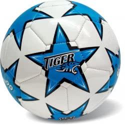star Μπάλα Ποδοσφαίρου Tiger Pro Άσπρο-Μπλε 35/733 5202522007337