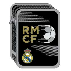 Diakakis imports Real Madrid Σχολική Κασετίνα Διπλή Γεμάτη Ρεάλ Μαδρίτης 15X5x21εκ. 000170597 5205698429644