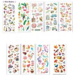 OEM Foil Stickers Happy Life Stickers 10X26 Cm - 9 Designs Δ029 4718167193003