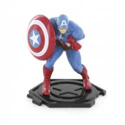 COMANSI Marvel Avengers Miniature Figure Captain America In Bag COM96025 8412906960258
