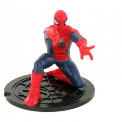 COMANSI Marvel Avengers Miniature Figure Spiderman Crouch Down COM96033 8412906960333
