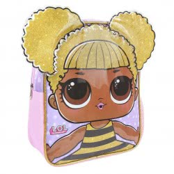 Cerda L.O.L. Surprise 3D Kindergarten Backpack Queen Bee With Gold Hair 2100002546 8427934273164