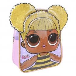 Cerda L.O.L. Surprise 3D Σακίδιο Πλάτης Νηπιαγωγείου Queen Bee Με Χρυσά Μαλλία 2100002546 8427934273164