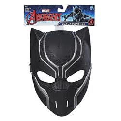 Hasbro Marvel Avengers Black Panther Βασική Μάσκα Μαύρος Πάνθηρας B9945 / C2990 5010993567867