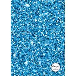 shape notebooks Τετράδιο Σπιράλ 3 Θεμάτων B5 Glitter 17X24 Cm - 5 Χρώματα GLITTERB53 5200399803373