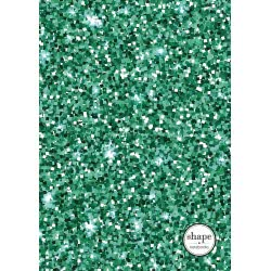 shape notebooks Notebook Spiral 1 Subject B5 Glitter 17X24 Cm - 5 Colours GLITTERB51 5200399803359