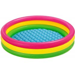 INTEX Inflatable Kids Pool 114x25εκ Sunset Glow Pool 57412 6941057457413