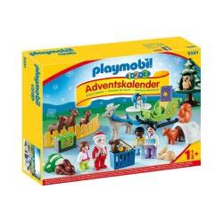 Playmobil 1.2.3 Χριστουγεννιάτικο Ημερολόγιο - Χριστούγεννα Στο Δάσος 9391 4008789093912