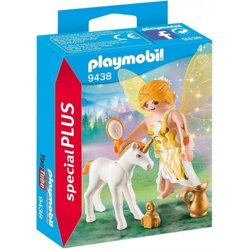 Playmobil Special Plus Sun Fairy With Unicorn Foal 9438 4008789094384