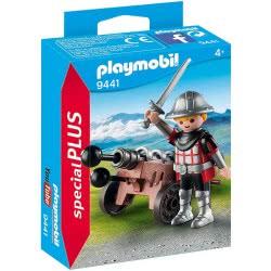 Playmobil Special Plus Ιππότης Με Κανόνι 9441 4008789094414
