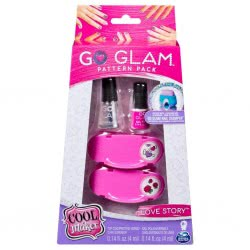 Spin Master Cool Maker Go Glam Pattern Pack Nail Stamper Daydream / Love Story - 2 Designs 20107965 778988189870